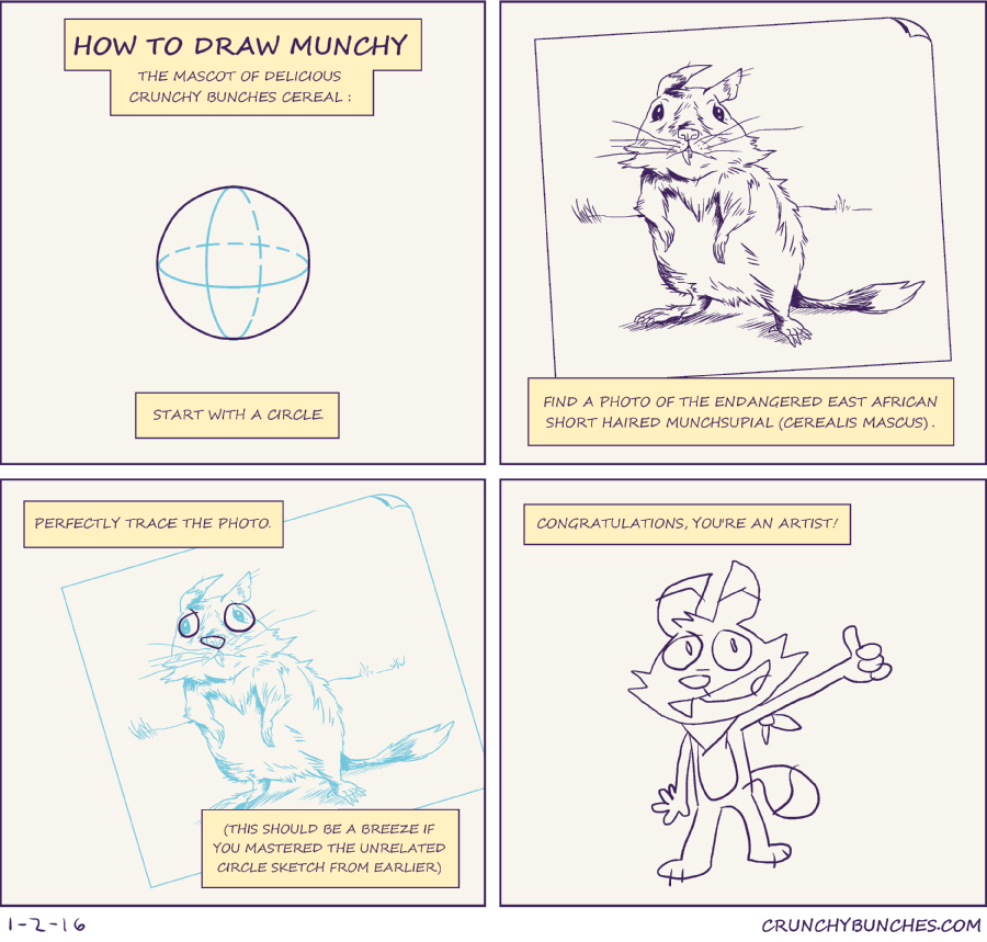 Comics The Crunchy Bunches Way