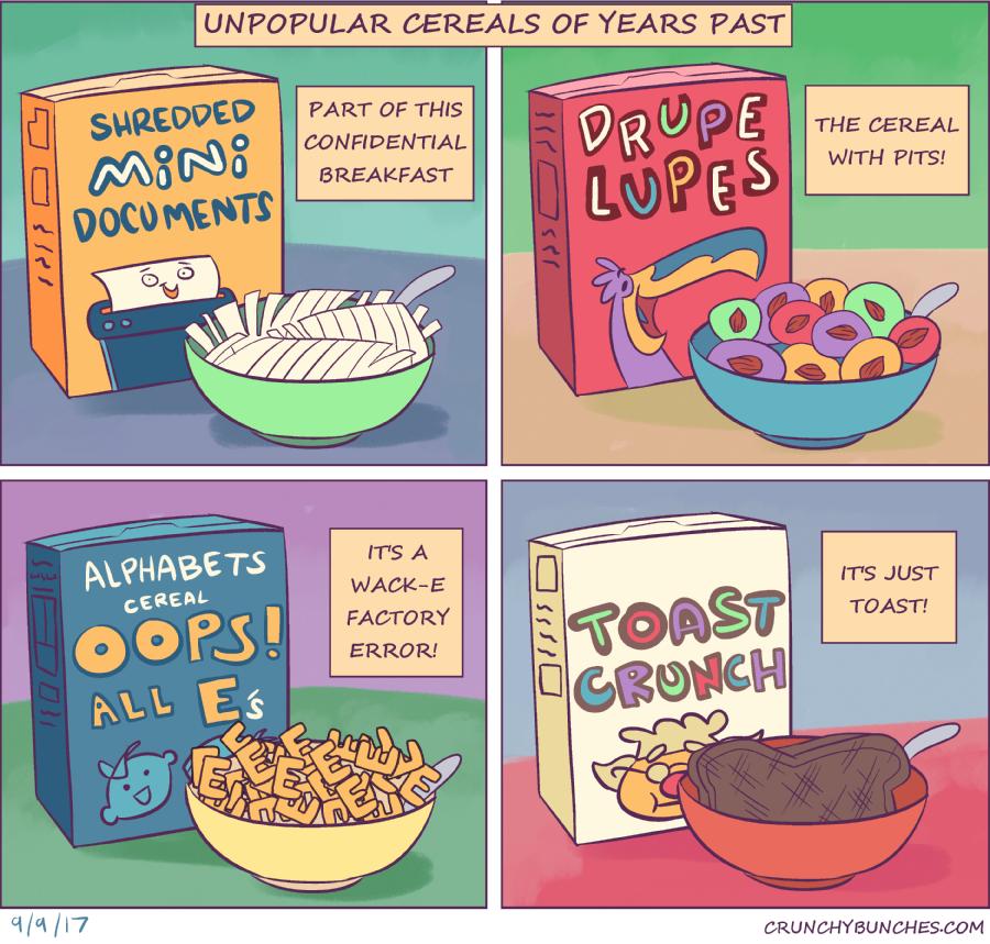Unpopular Cereals